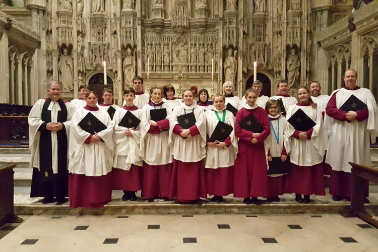 St. Peter's Choir at Winchester Cathedral
