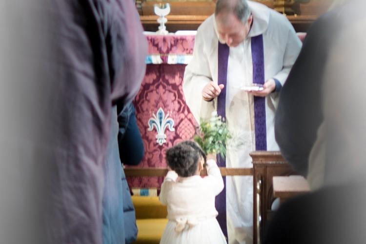 Communion rail Keble chapel